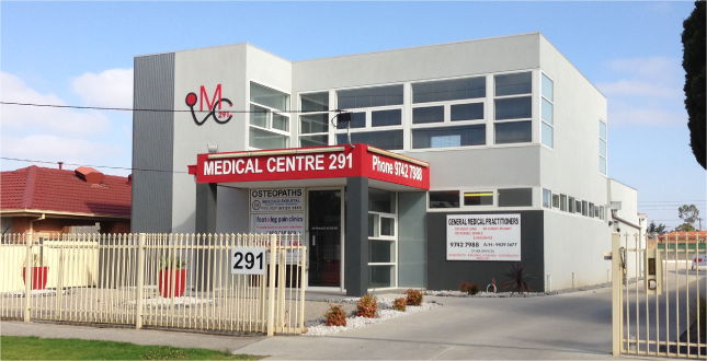 Our medical centre building in Werribee